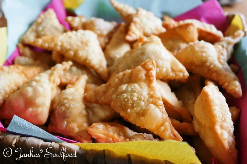 Rezept Vegetarische Samosas