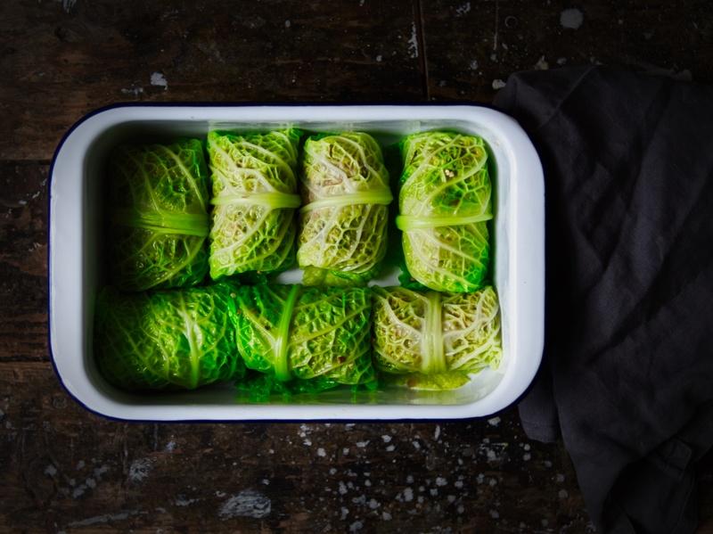 Rezept Vegetarische Wirsingrouladen