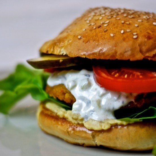 Rezept Vegetarischer Burger