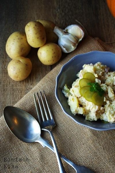 Rezept Vegetarischer Kartoffelsalat mit Mayo-Alternative