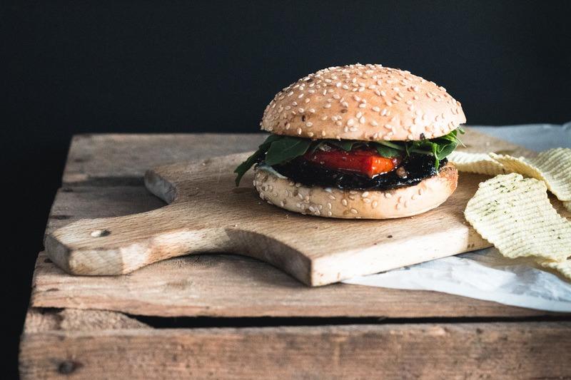 Rezept Vegetarischer Portobello Burger