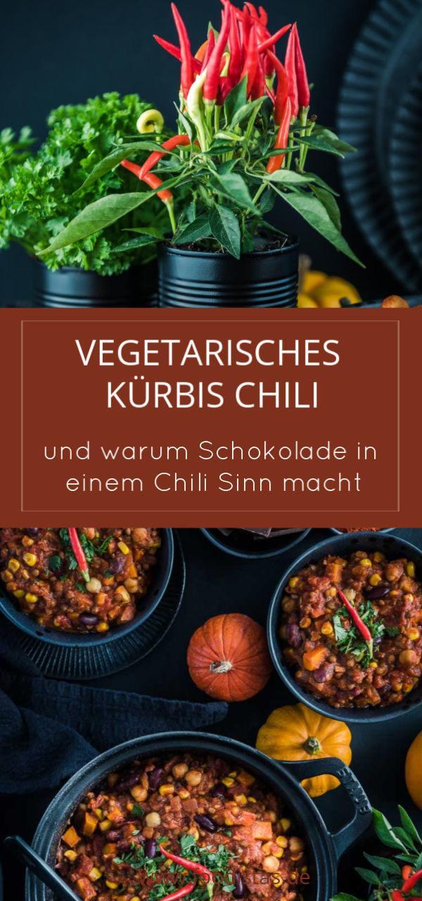 Rezept Vegetarisches Kürbis Chili