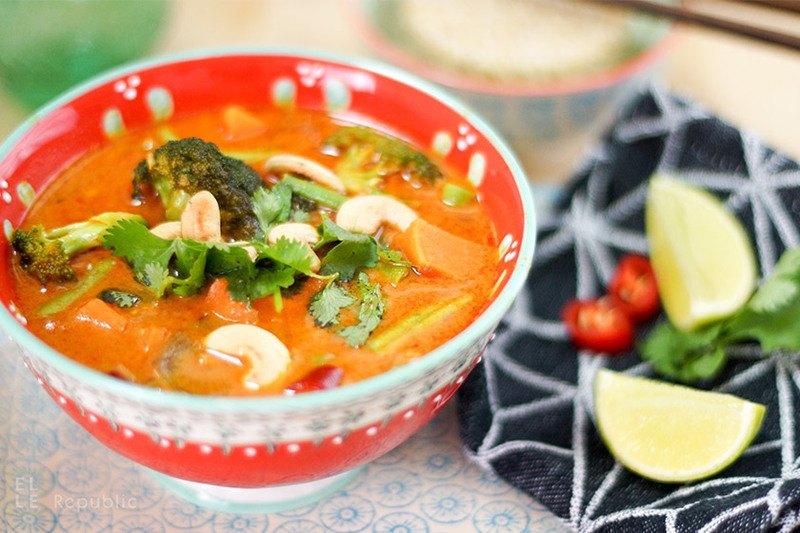 Rezept Vegetarisches Rotes Thai Curry