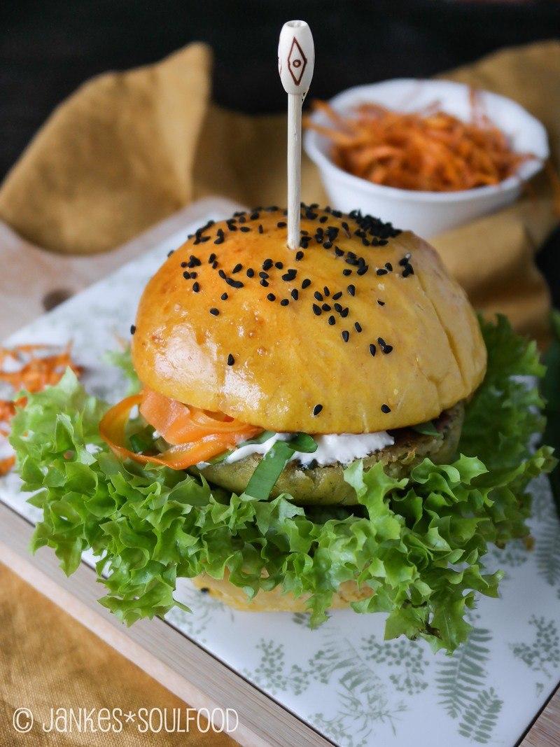 Rezept Veggie-Burger