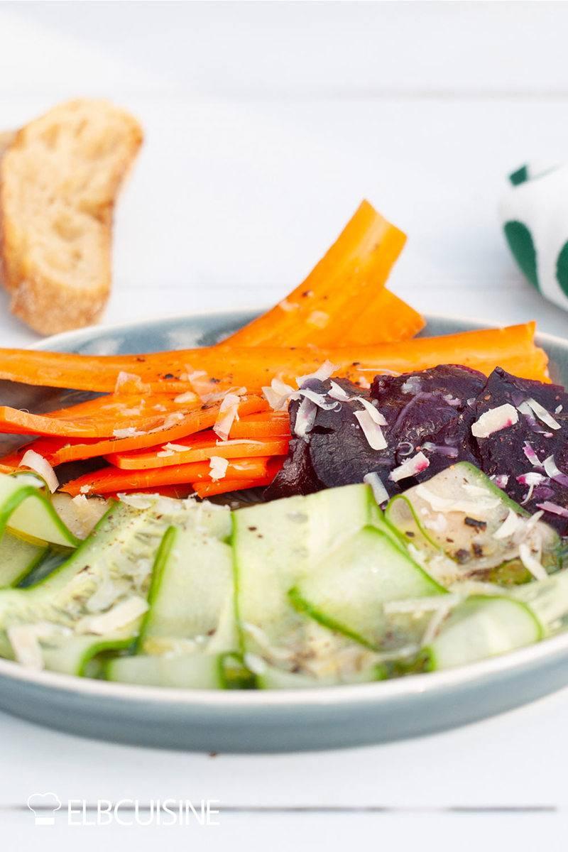 Rezept Veggie-Carpaccio nach Steffen Henssler
