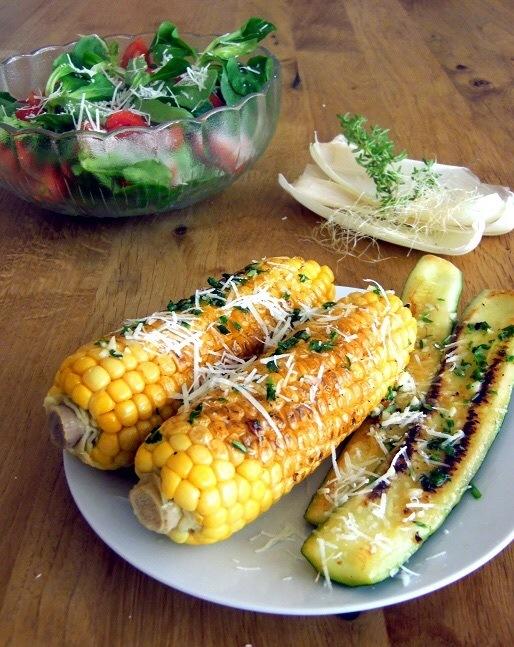 Rezept Veggie Parmesan Snacks