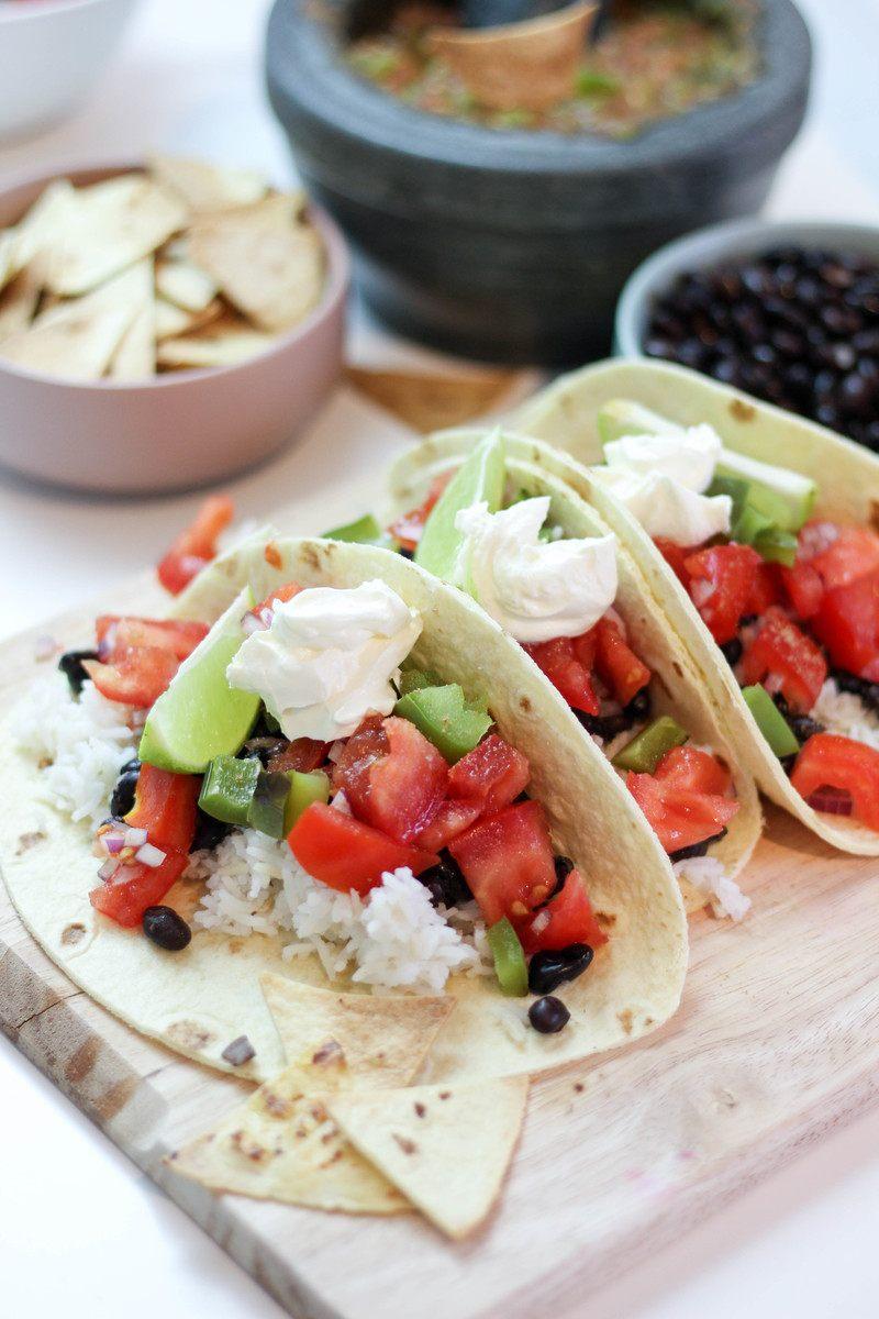 Rezept Veggie Tacos mit hausgemachter Salsa