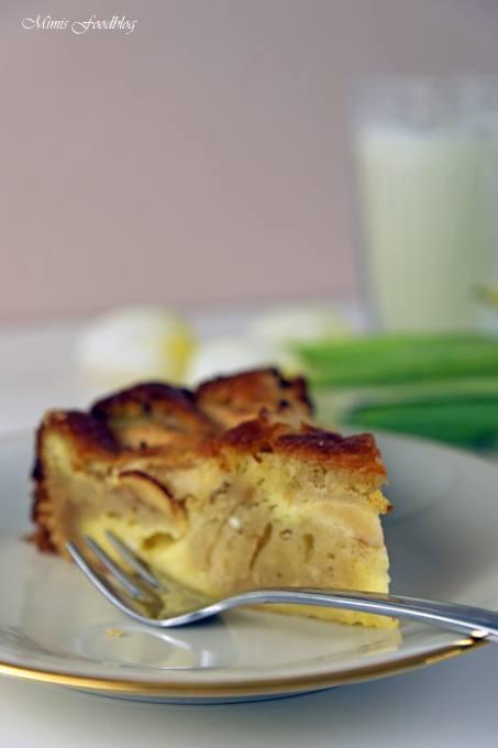 Rezept Versunkener Apfel-Käsekuchen ~ rustikaler Flair auf dem Kaffeetisch