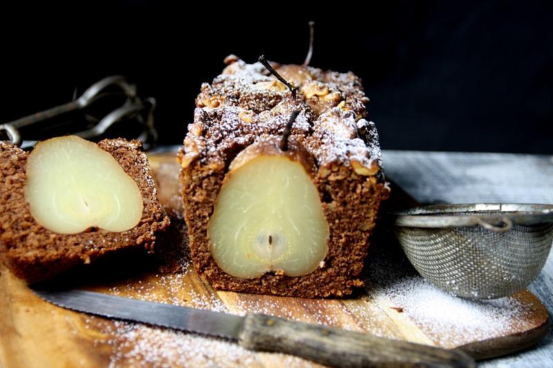 Rezept Versunkener Birnenkuchen