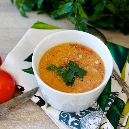 Rezept Vietnamesische Tomatensuppe mit Ei
