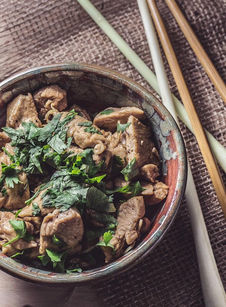 Rezept Vietnamesisches Hähnchen mit Zitronengras