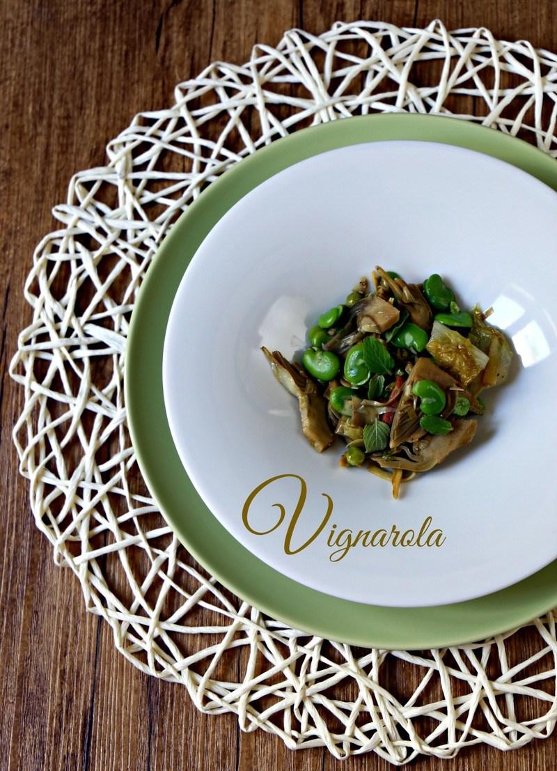 Rezept Vignarola alla Romana