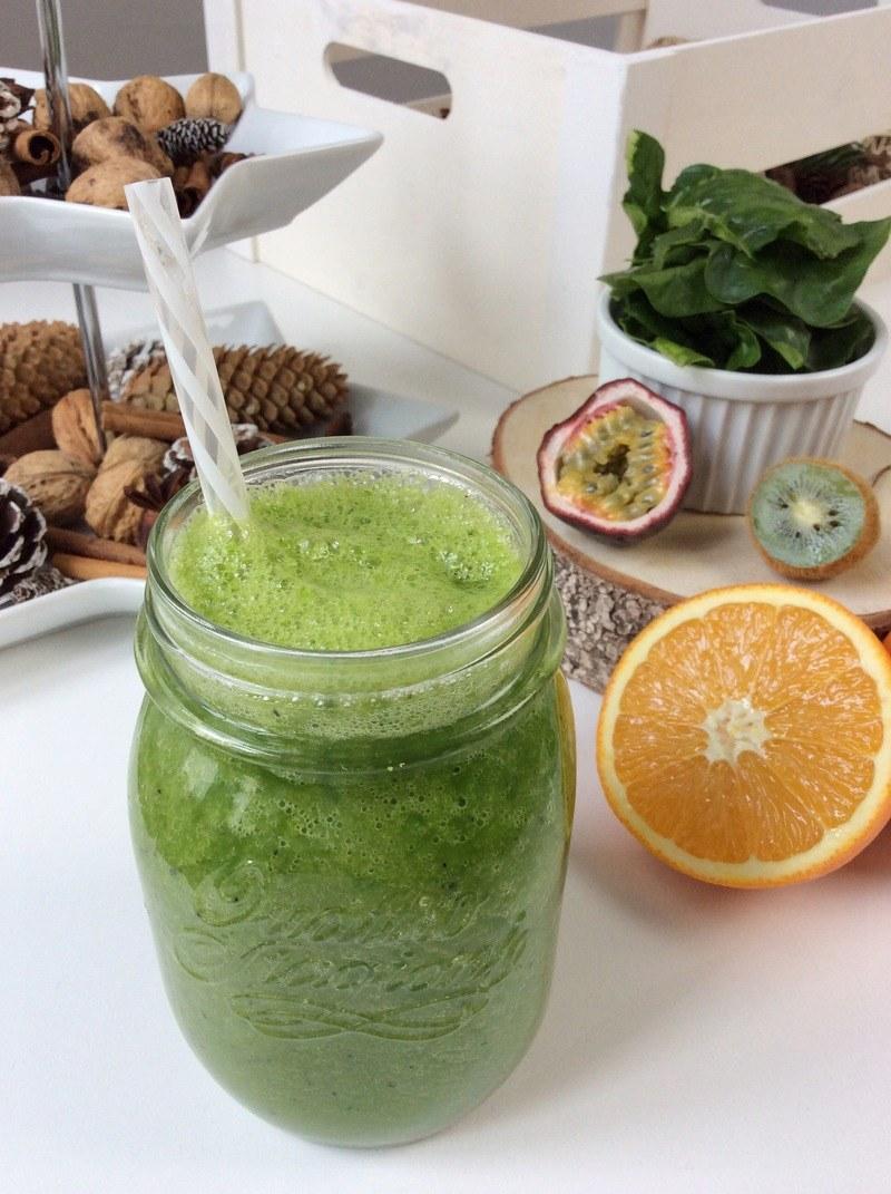 Rezept Vitamine für den Winter / Green Smoothie