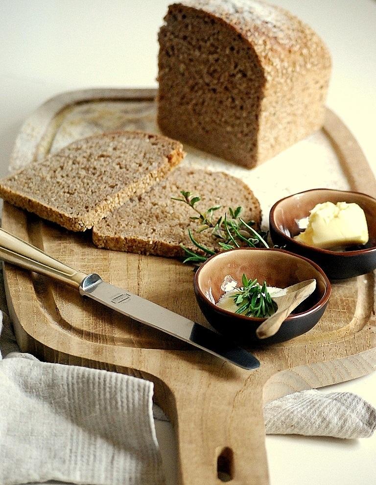 Rezept Vollkorn Dinkel Leinsam Brot