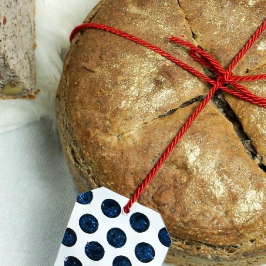 Rezept Vollkorn-Mohn-Brot mit Goldstaub
