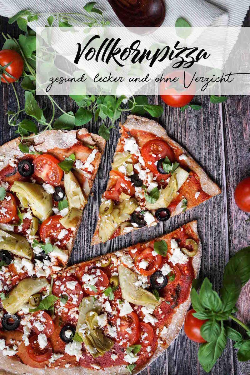 Rezept Vollkornpizza - gesund, lecker und ohne Verzicht