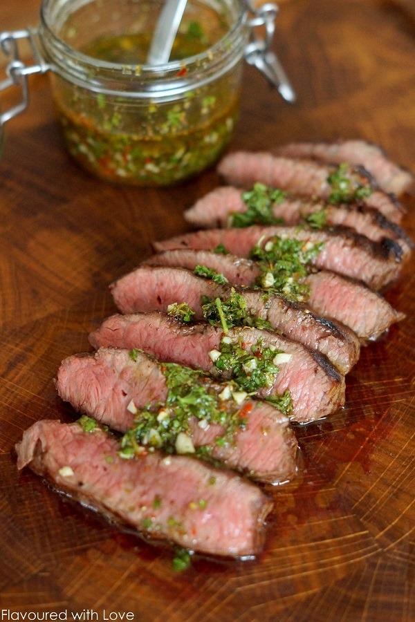 Rezept Wagyu Flat Iron Steak mit Chimichurri