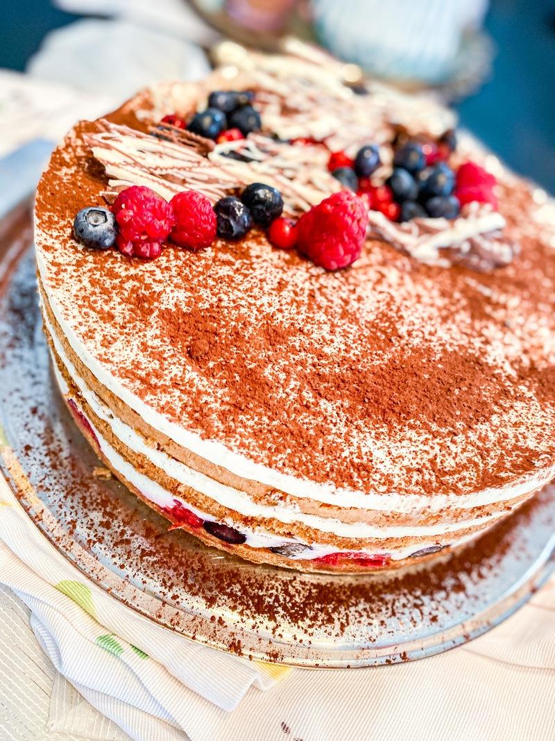 Rezept Waldbeer Tiramisu Torte