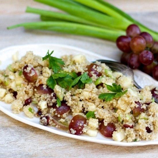 Rezept Waldorf Quinoa Salat