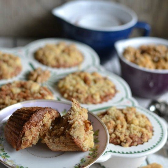 Rezept Walnuss Apfel Muffins