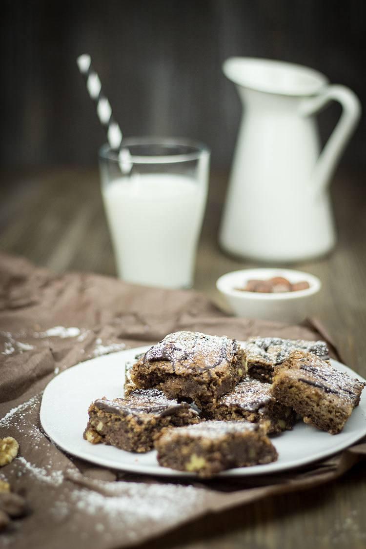 Rezept Walnuss-Brownies