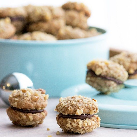 Rezept Walnuss-Espresso-Cookies
