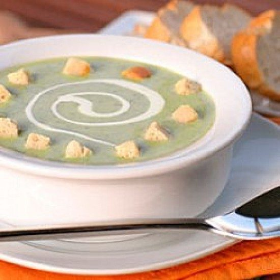 Rezept Wärmende Brokkolisuppe