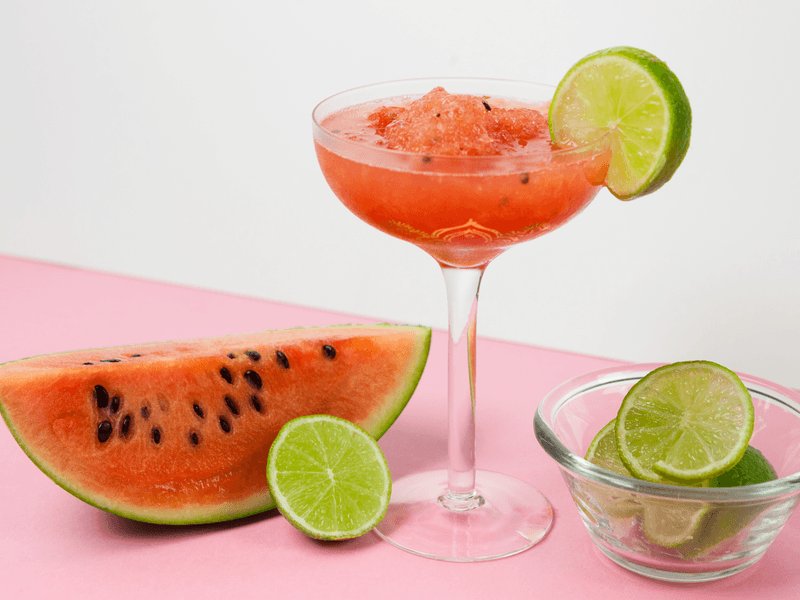 Rezept Wassermelonen Sorbet mit Roséwein