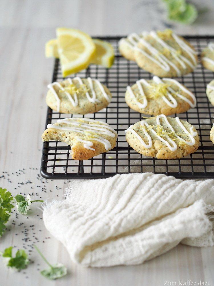 Rezept Weiche Zitronen-Cookies mit Mohn