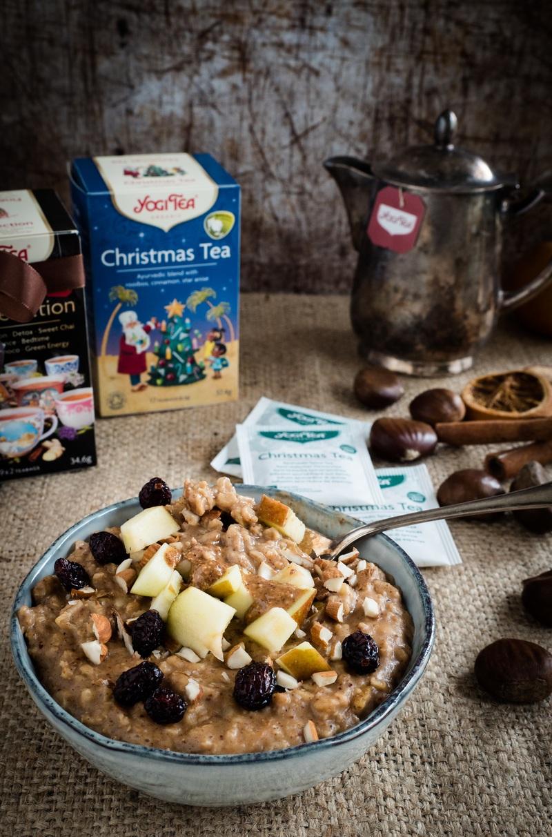 Rezept Weihnachtliches Oatmeal