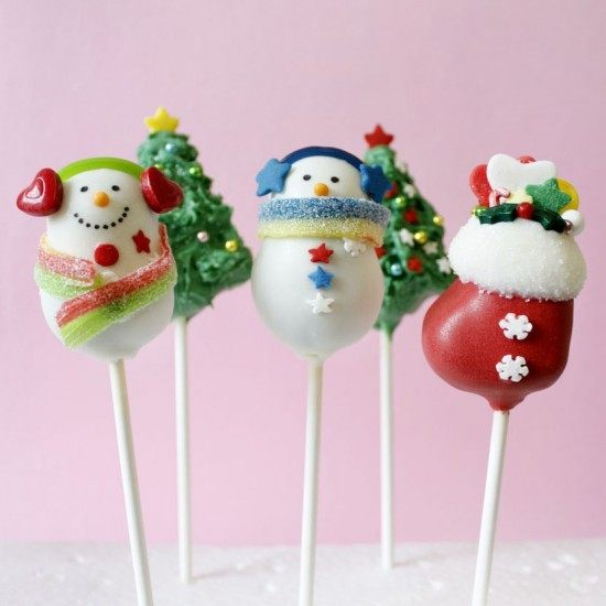 Rezept Weihnachts Cake Pops