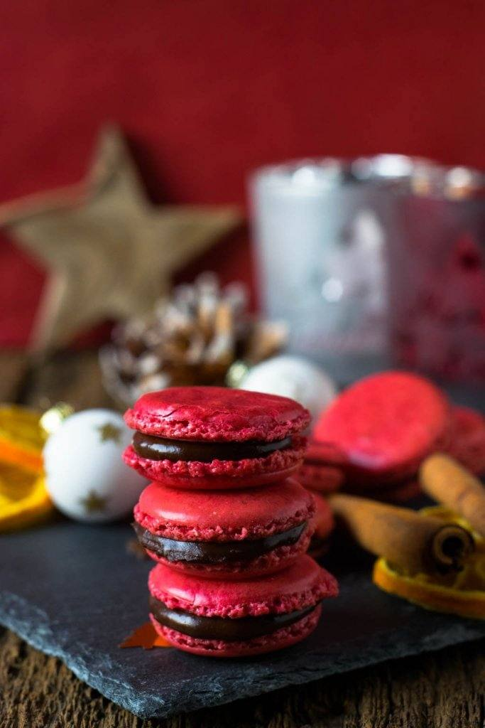 Rezept Weihnachtsmacarons