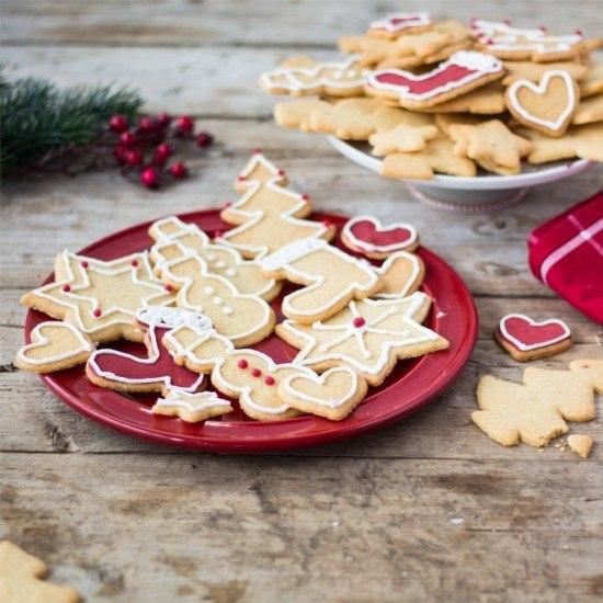 Rezept Weihnachtsplätzchen mit Zuckerglasur