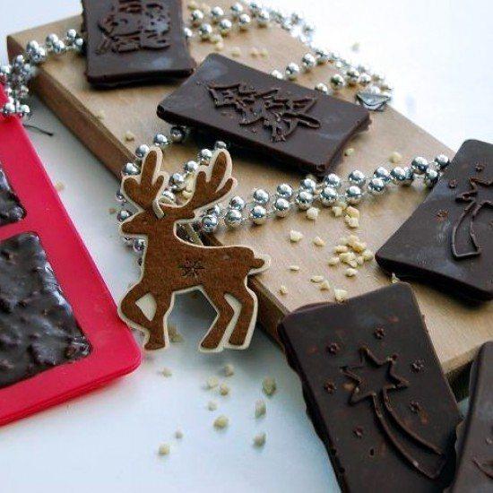 Rezept Weihnachtsschokolade homemade!
