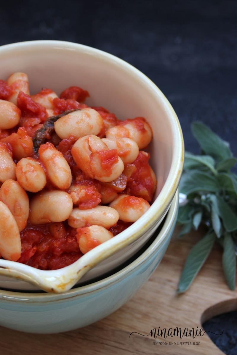 Rezept Weiße Bohnen in Tomatensoße