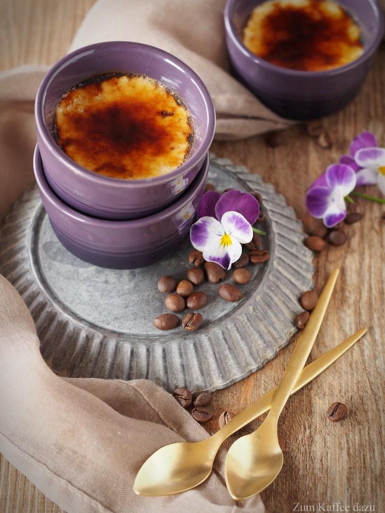 Rezept Weißes Kaffee-Crème Brûlée