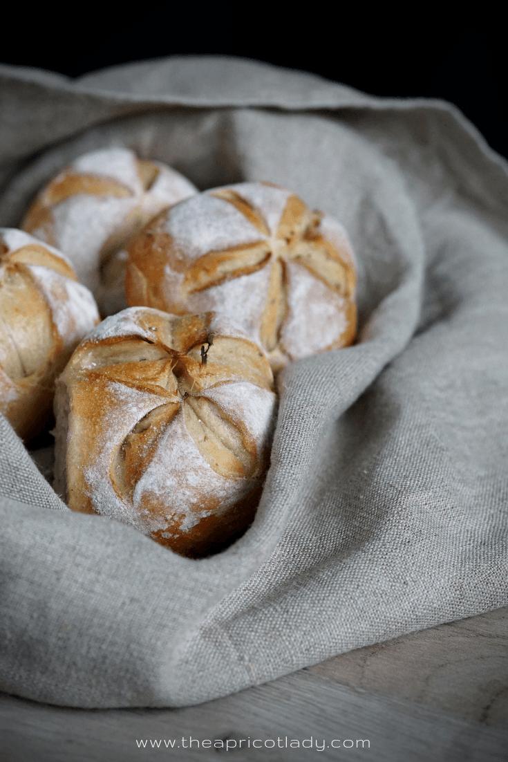 Rezept Weizen-Dinkel-Brötchen