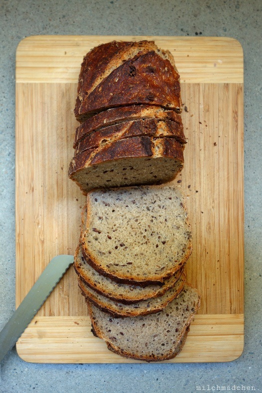 Rezept Weizenmischbrot oder -brötchen mit Slow Dough