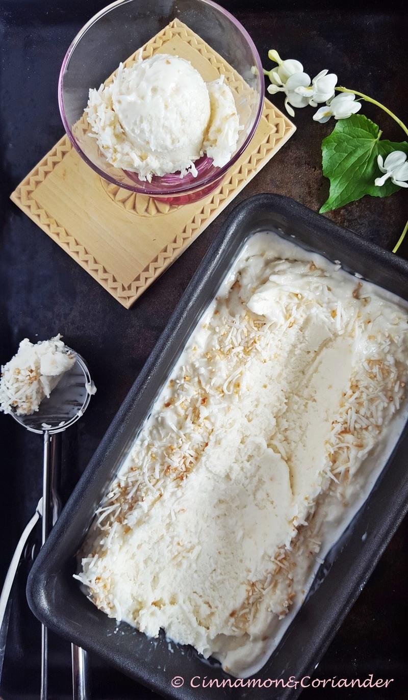 Rezept Weltbestes Kokos Eis