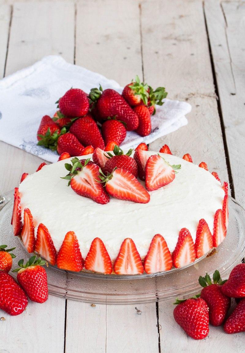 Rezept White Cheesecake