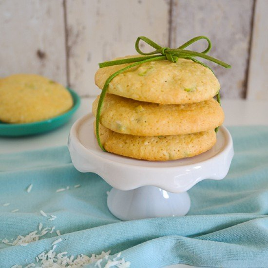 Rezept White Chocolate Cookies mit Pistazien und Kokos