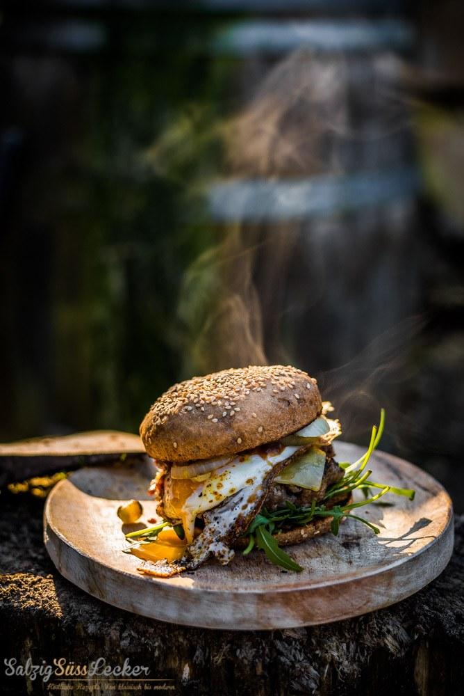 Rezept Wiesen-Burger zum Outdoor-Grillen
