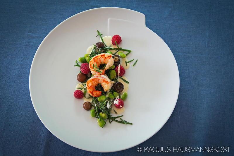Rezept Wildfanggarnelen mit Gemüse und Obst