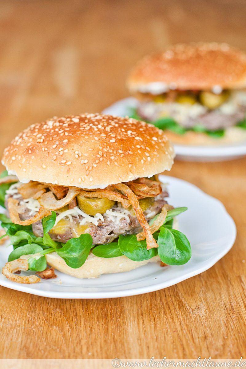 Rezept Winter-Cheeseburger