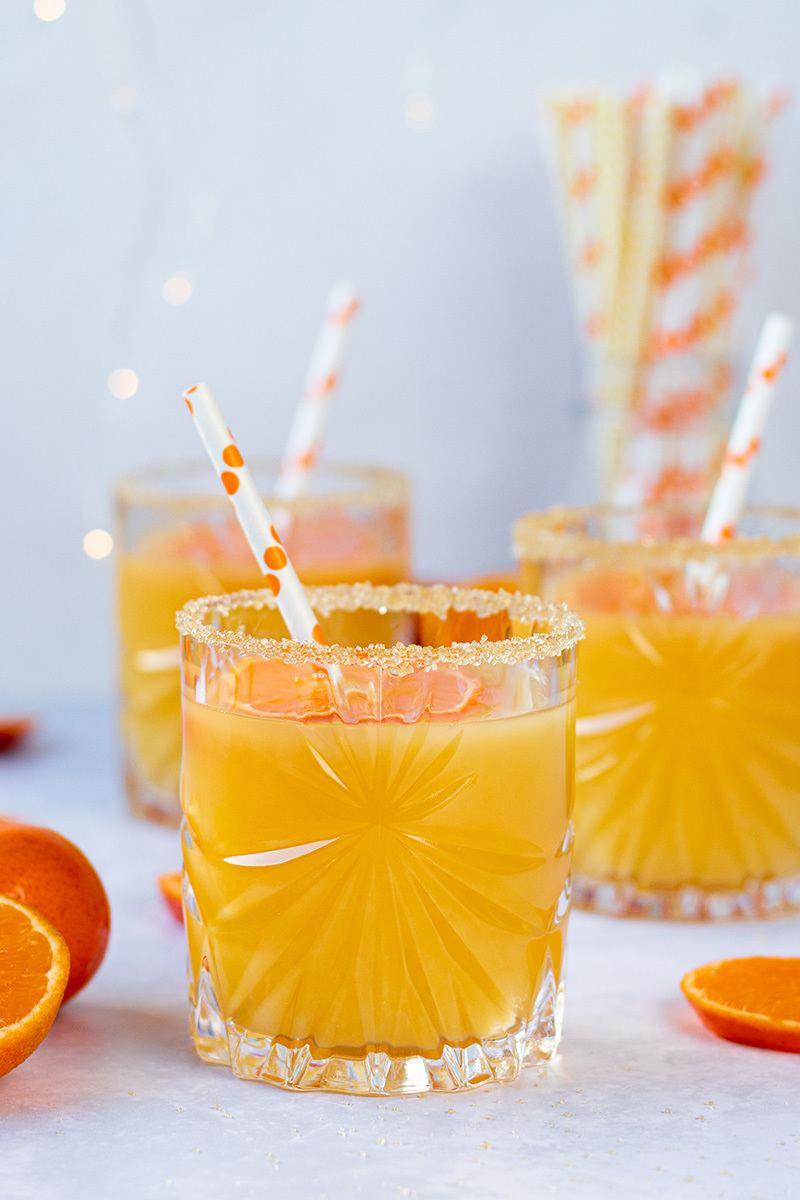Rezept Winter Clementinen-Cocktails