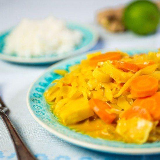 Rezept Winter Curry