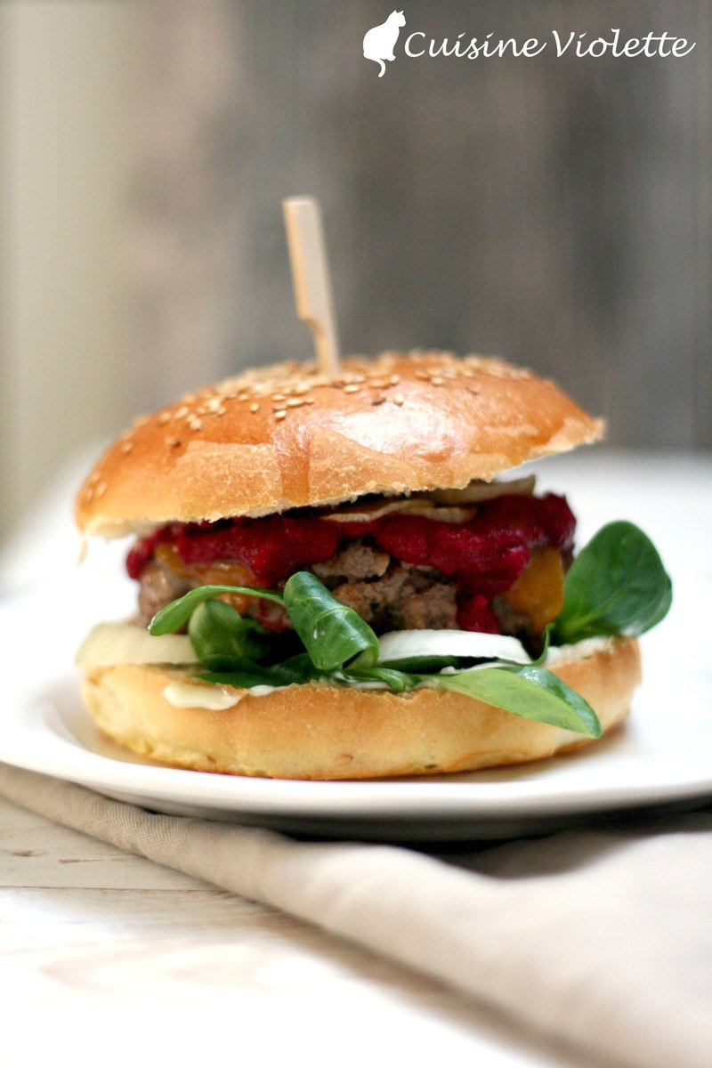 Rezept Winterburger mit Rote Beete-Ketchup