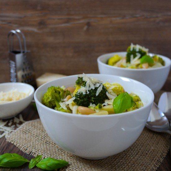 Rezept Winterliche Brokkoli-Minestrone