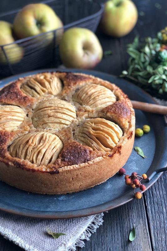 Rezept Winterlicher Apfelkuchen
