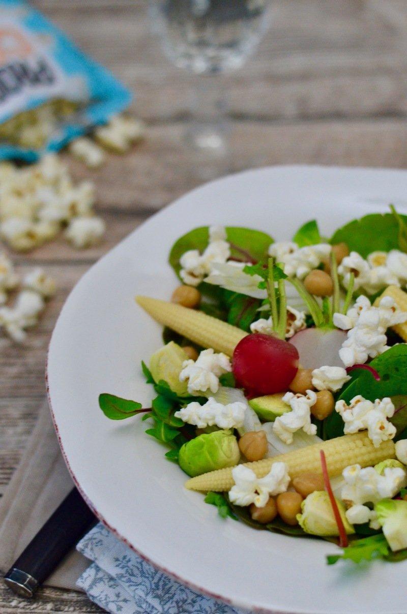 Rezept  Winterlicher Popcorn-Salat